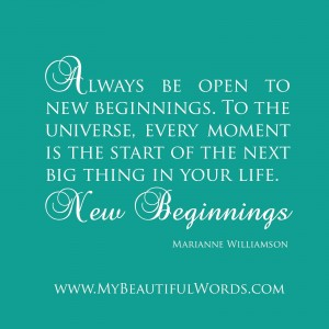 Marianne Williamson - New Beginnings